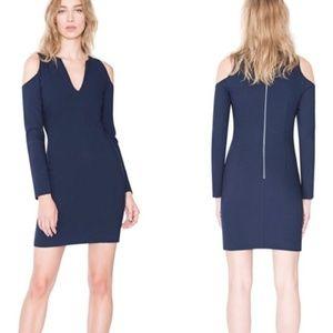 Alice + Olivia Cold Shoulder Dress